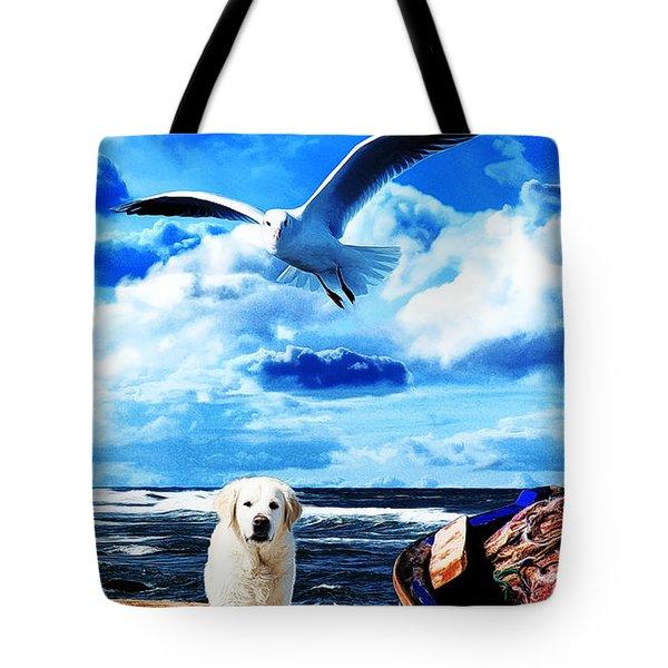 Seascape - Paesaggio Marino Tote Bag