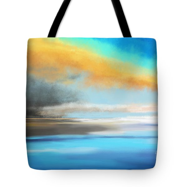 Seascape Painting Tote Bag