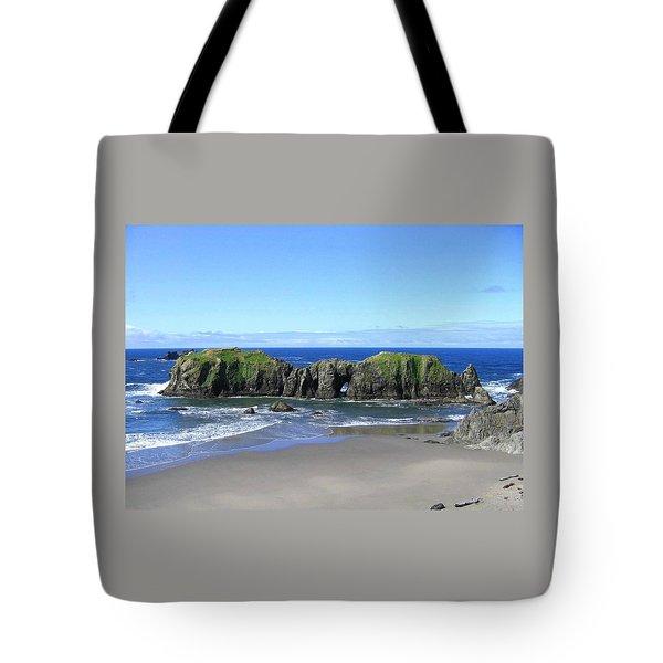 Seascape Supreme Tote Bag by Will Borden