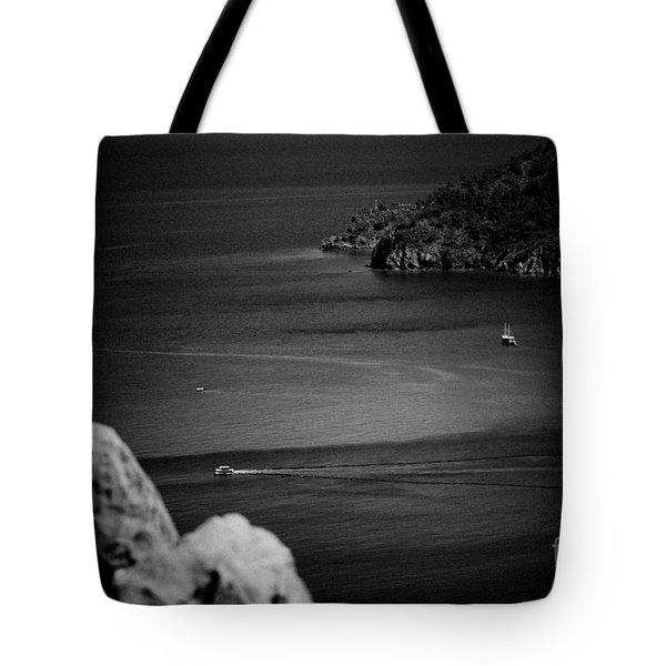 Seascape Turkey Artmif Tote Bag