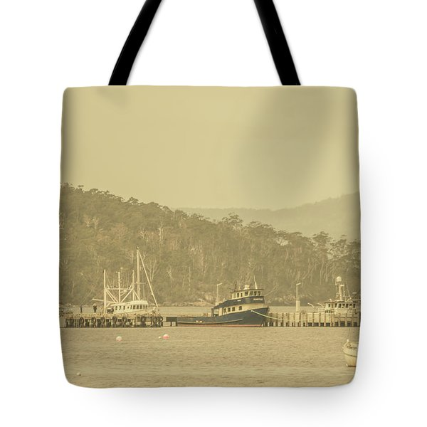 Seascapes Of Old Tote Bag