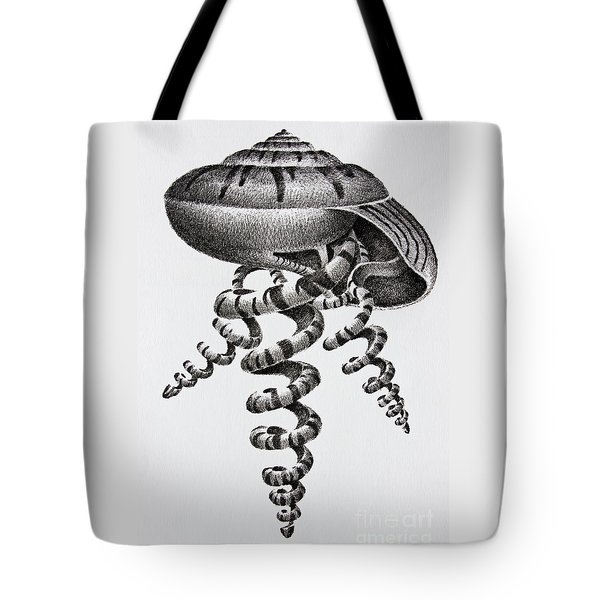 Seashell Forms Tote Bag by James Williamson