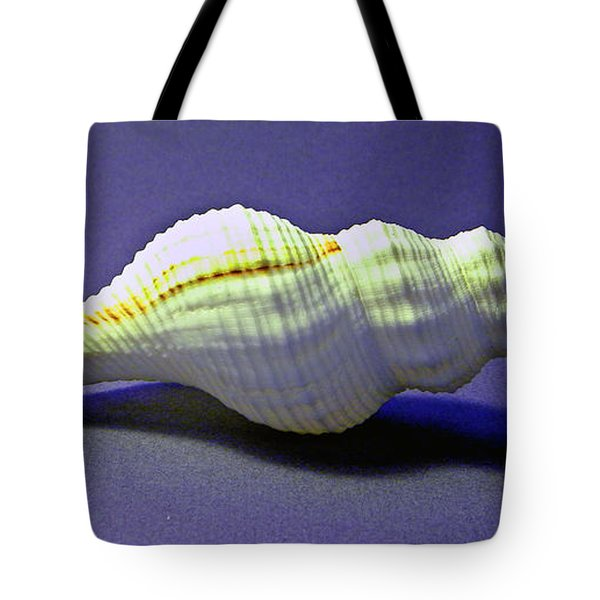 Seashell Fusinus Irregularis Tote Bag by Frank Wilson