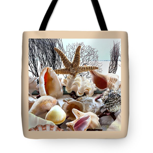 Seashell Galore Tote Bag