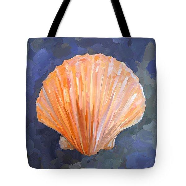 Seashell I Tote Bag by Jai Johnson