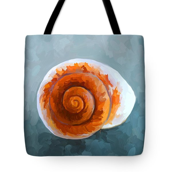 Seashell II Tote Bag by Jai Johnson