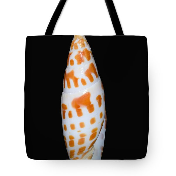 Seashell In Fishnet Tote Bag by Bill Brennan - Printscapes