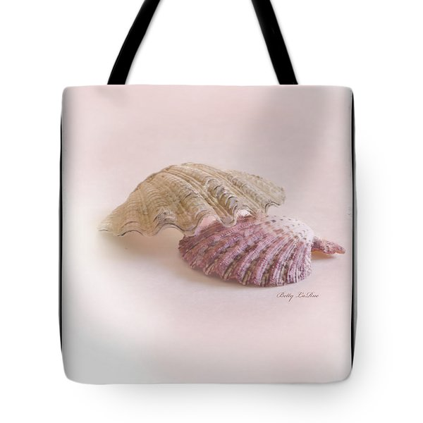 Seashell Love Tote Bag by Betty LaRue