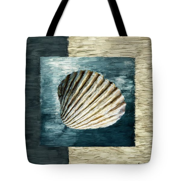 Seashell Souvenir Tote Bag by Lourry Legarde