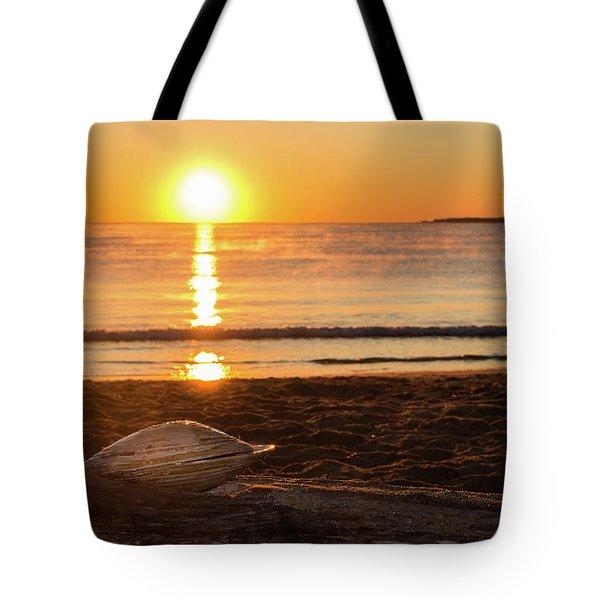 Seashell Sunrise Tote Bag