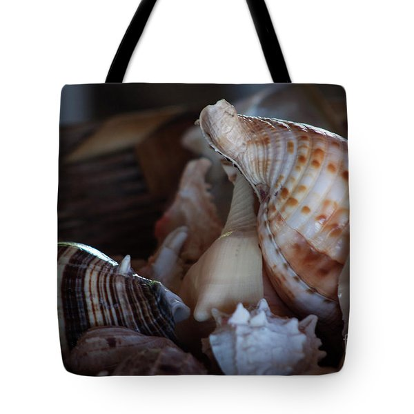Tote Bag featuring the photograph Seashells  by Ana Mireles