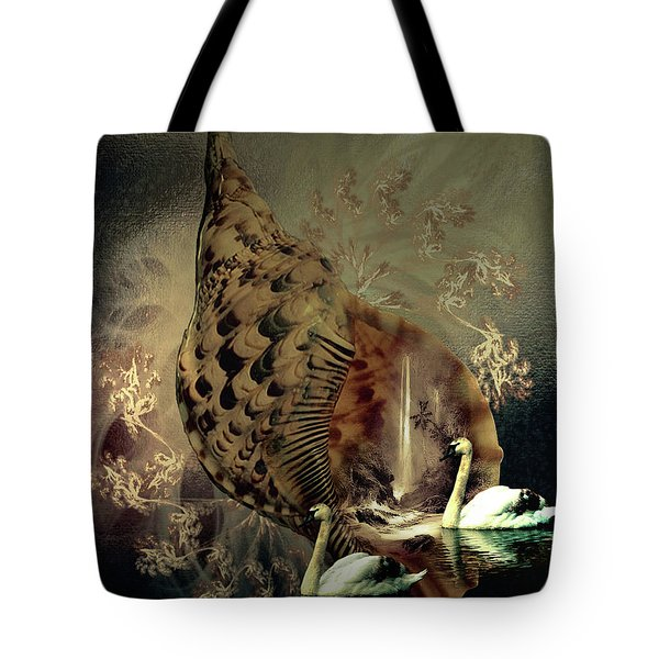 Seashells Falls 001 Tote Bag
