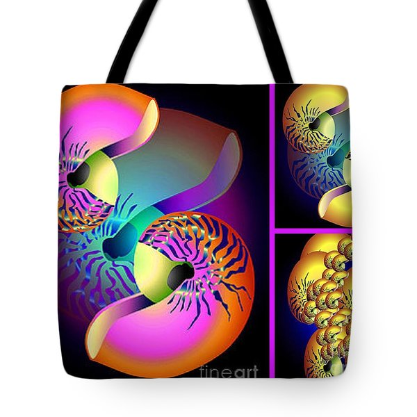 Seashells Family Tote Bag