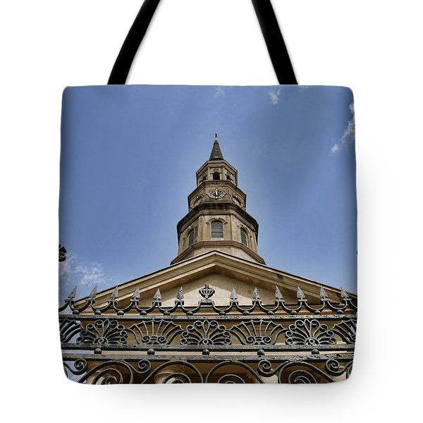 Seashells, Palmettos And Scrolls Tote Bag