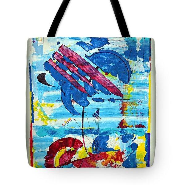 Seashore Holiday Tote Bag