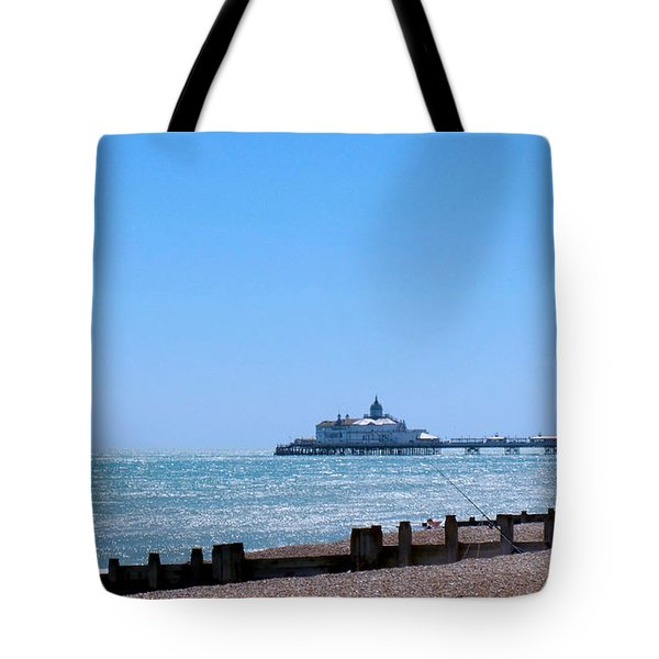 Seaside And Pier Tote Bag