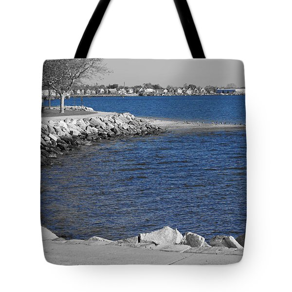 Seaside Blue Tote Bag
