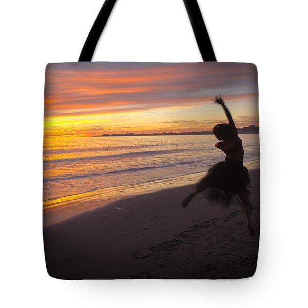 Seaside Dancer Tote Bag