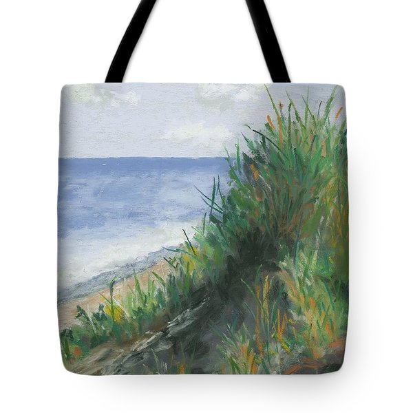 Seaside Tote Bag by Ginny Neece