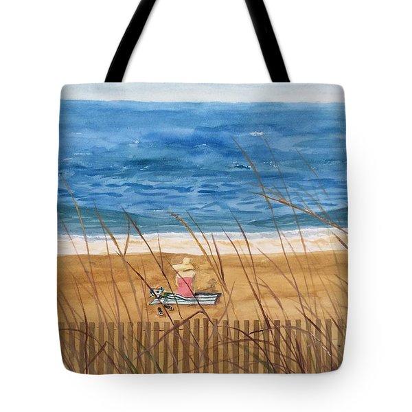 Seaside In Massachusetts Tote Bag
