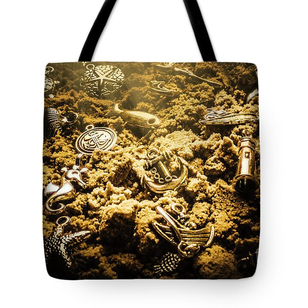 Seaside Of Creative Charms Tote Bag