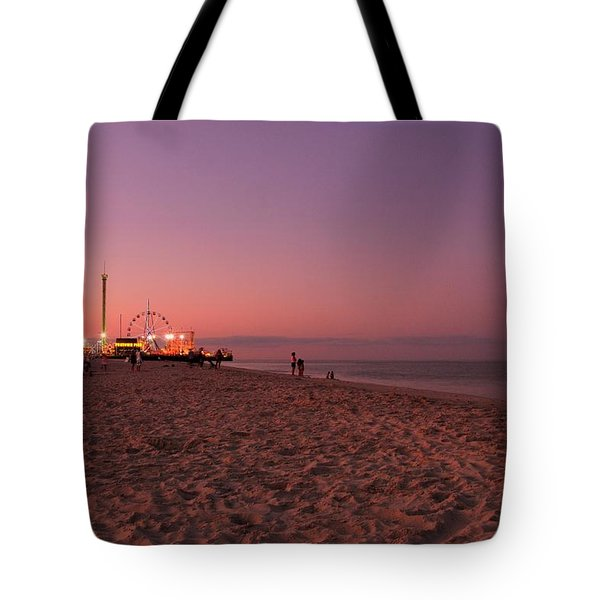 Seaside Park I - Jersey Shore Tote Bag by Angie Tirado