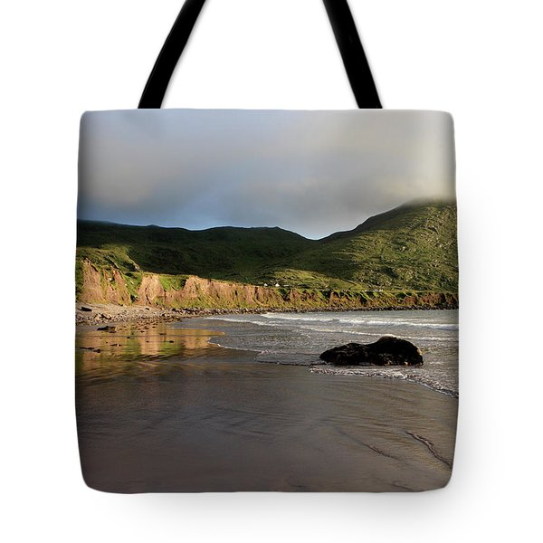Seaside Reflections - County Kerry - Ireland Tote Bag by Aidan Moran