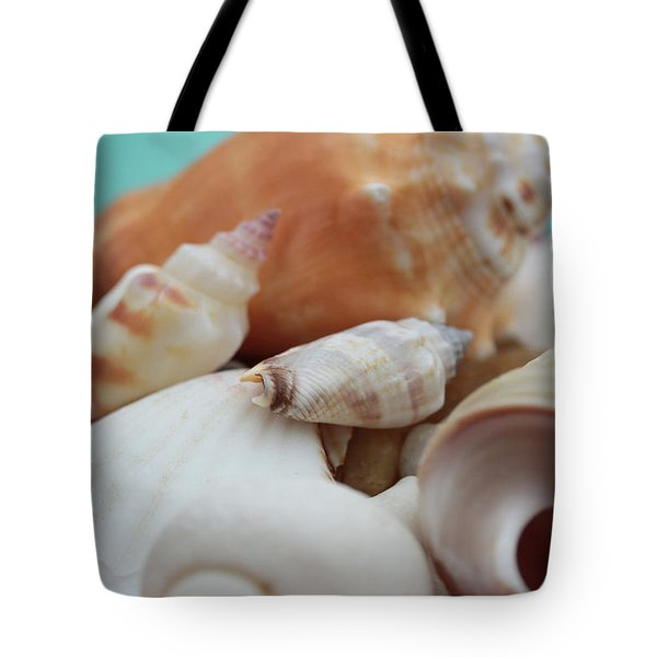 Seaside Seashells Tote Bag