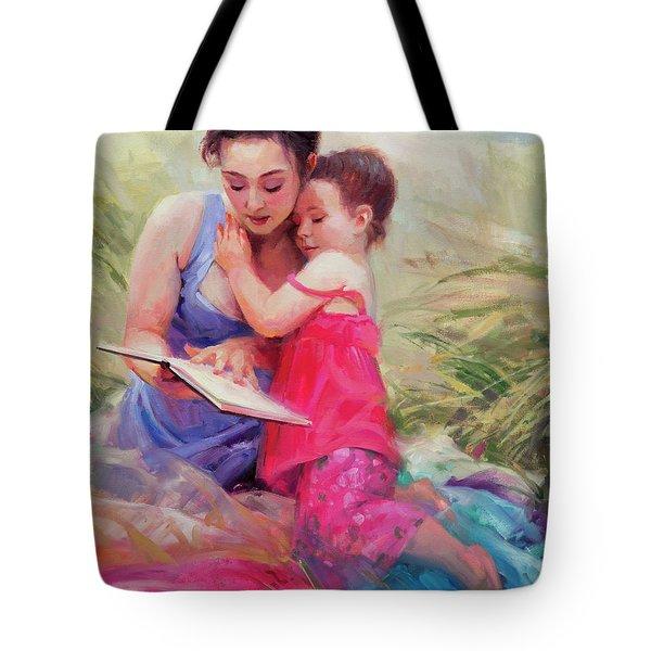 Seaside Story Tote Bag