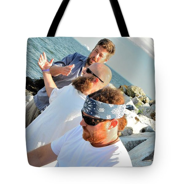 Tote Bag featuring the photograph Seaside Vibers by Jesse Ciazza