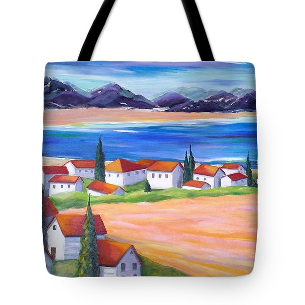 Seaside Village Tote Bag