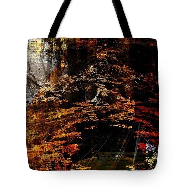 Tote Bag featuring the digital art Seasons.. by Art Di