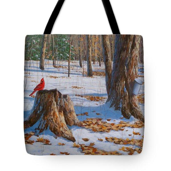 Seasons Change Tote Bag