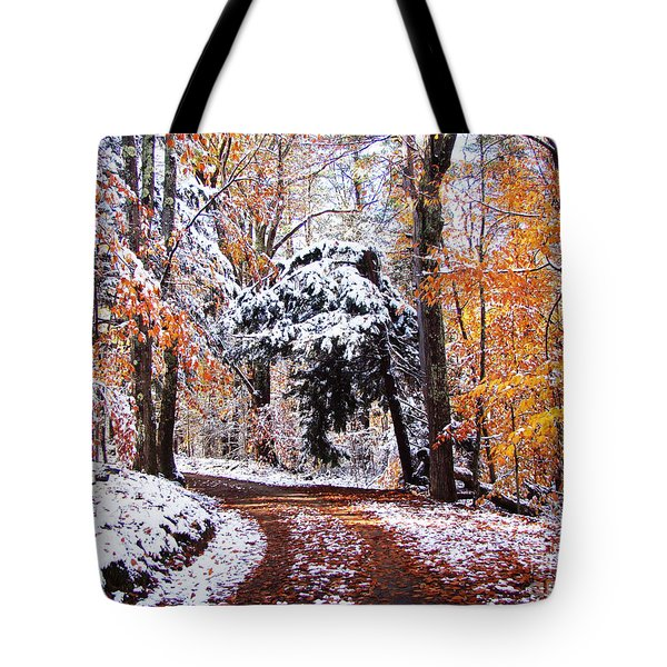 Seasons Cross Tote Bag