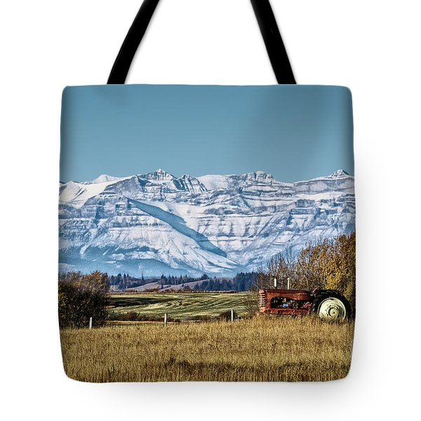 Season's End Tote Bag