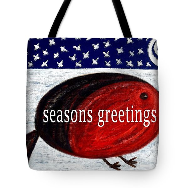 Seasons Greetings 4 Tote Bag by Patrick J Murphy