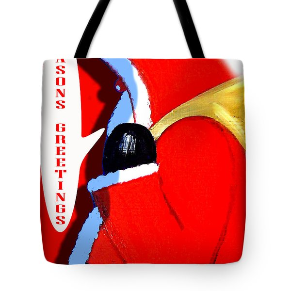 Seasons Greetings 5 Tote Bag by Patrick J Murphy