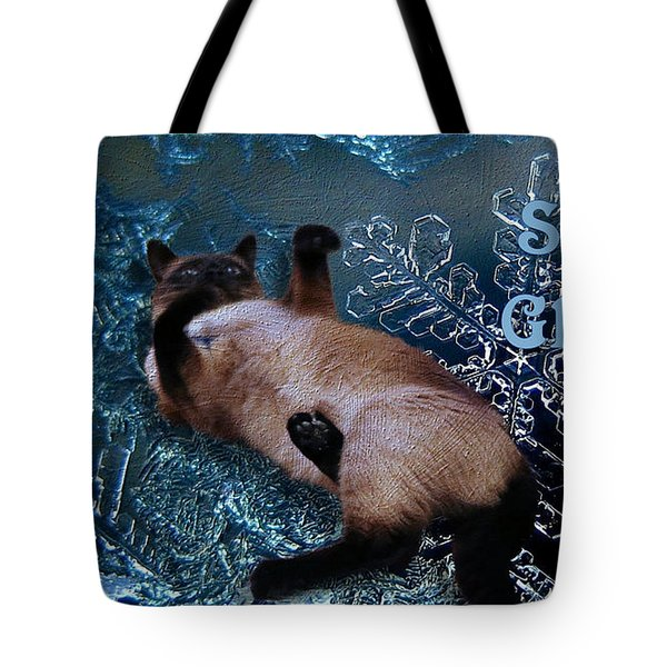 Seasons Greetings Tote Bag
