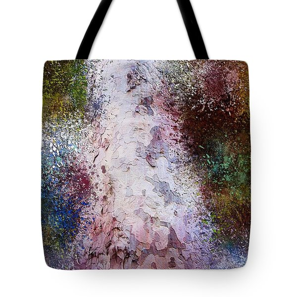 Tote Bag featuring the painting Seasons by Mark Taylor