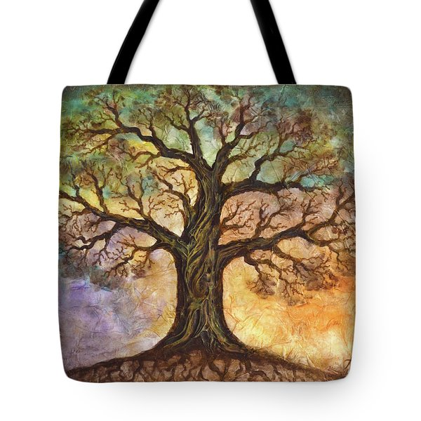 Seasons Of Life Tote Bag by Agata Lindquist