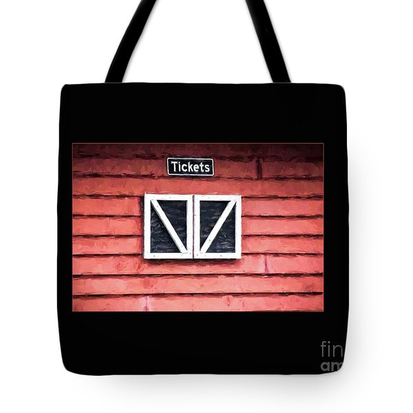 Season's Over Tote Bag