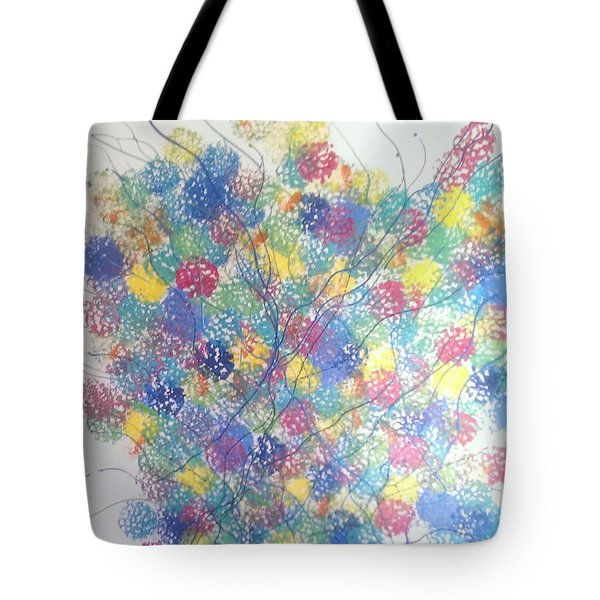 Seasponge Tote Bag by Judi Goodwin