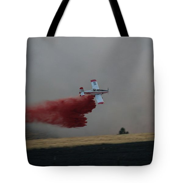 Seat Drops On Indian Canyon Fire Tote Bag