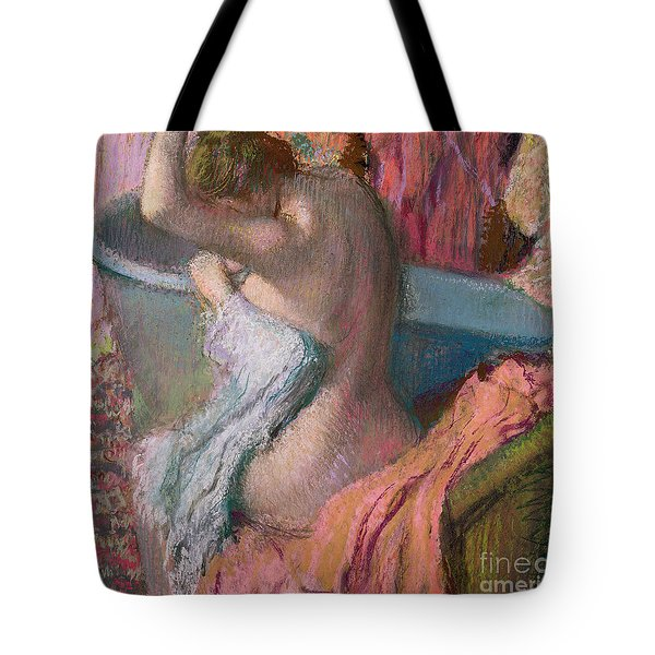 Seated Bather Tote Bag