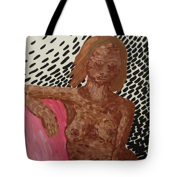 Seated Nude Tote Bag by Joshua Redman