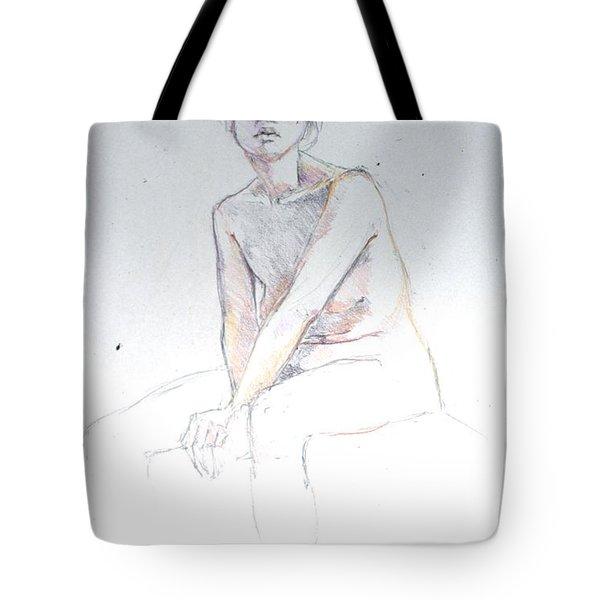Seated Study 2 Tote Bag