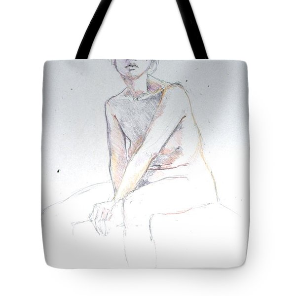 Seated Study 2 Tote Bag