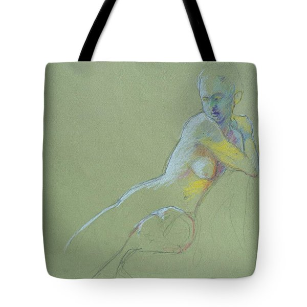 Seated Study Tote Bag