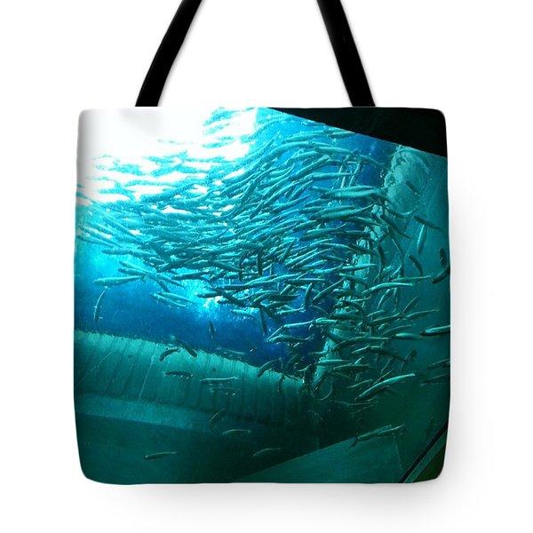 #aquarium Tote Bag