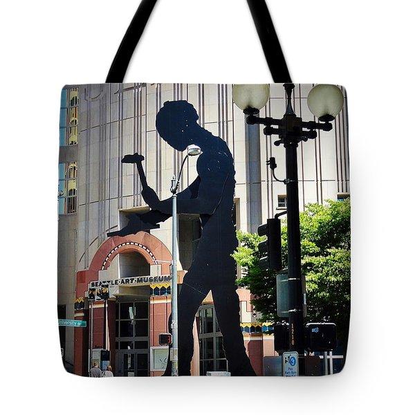 Seattle Art Tote Bag